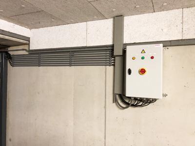 Enon regelpaneel renovatie hellingbaanverwarming